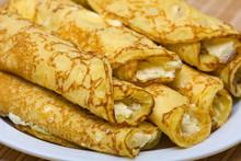 Blintzes (cheese Pancakes)