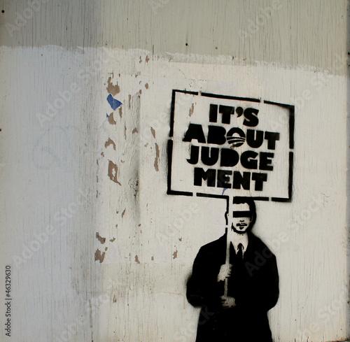 American Politics Graffiti Tablou Canvas