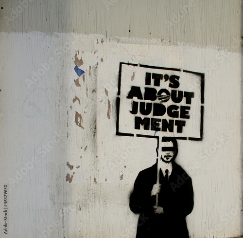 American Politics Graffiti Fototapeta