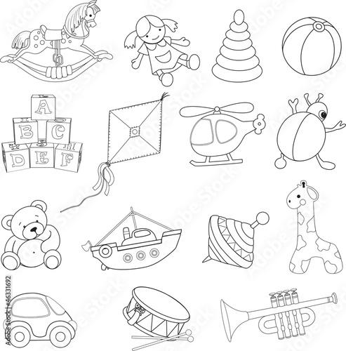 zabawki-dla-niemowlat-kolorowanka