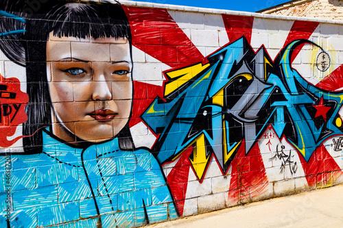 Foto op Aluminium Graffiti Graffiti