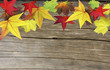 canvas print picture - Herbstliche Pinnwand