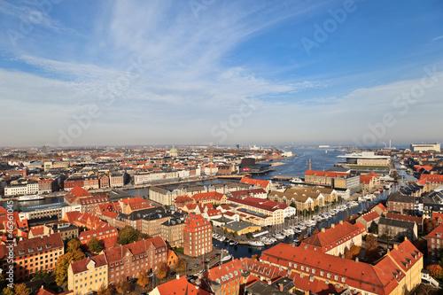 Photo Aerial view of Copenhagen