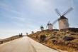 Windmills in Consuegra (Spain)