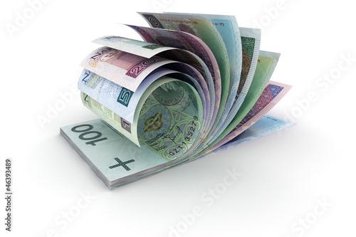 PLN Notes - fototapety na wymiar