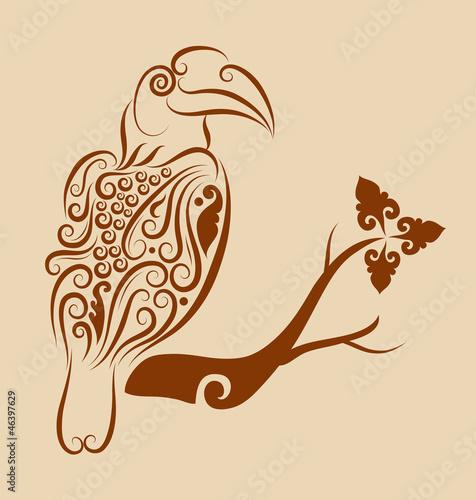 Bird ornament 1
