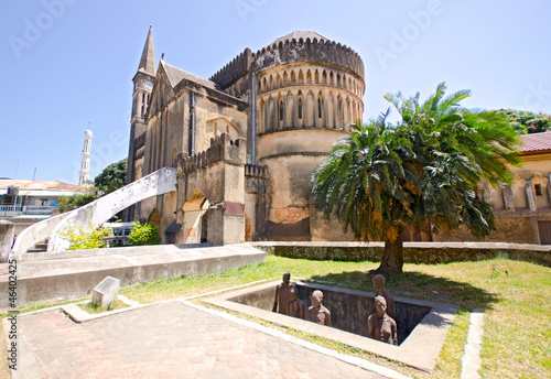 Staande foto Zanzibar Slave Market Memorial on Zanzibar