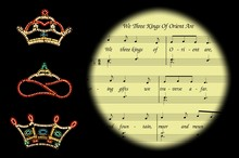 We Three Kings Carol And Crowns © Arena Photo UK