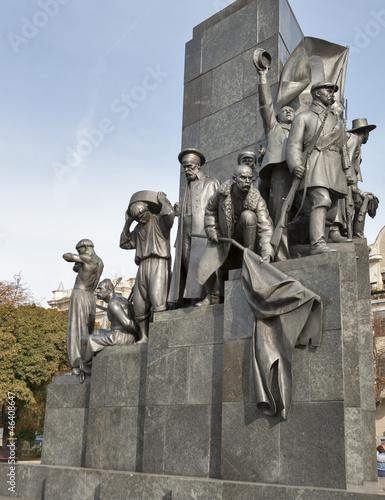 Fotografia  Taras Shevchenko monument in Kharkov