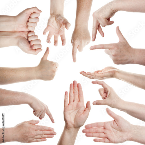 Fototapety, obrazy: Female hands