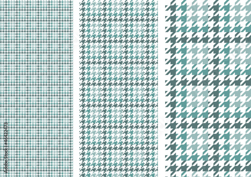 Photo  Houndstooth(peppermint green)