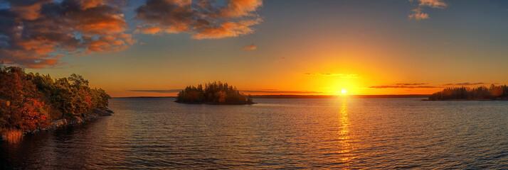 Obraz na PlexiAutumn Sunset