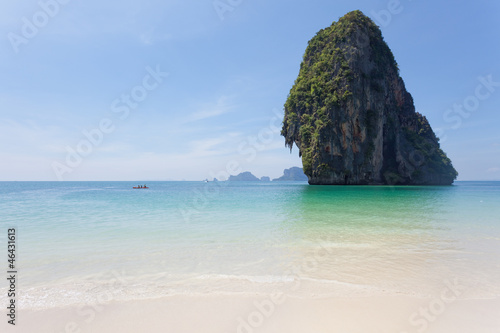 Foto-Leinwand - Thailand - Phra Nang Beach - Krabi