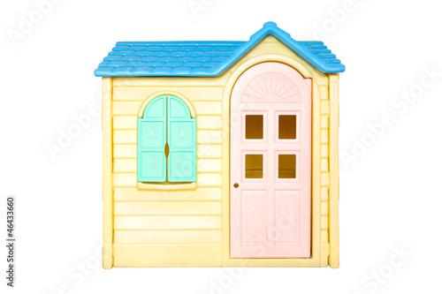 Photo  Children toy house