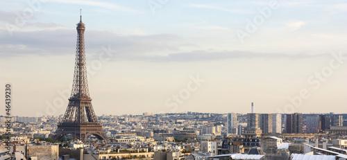 Poster Paris Panorama di Parigi - Francia