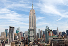 Empire State Building In New Y...