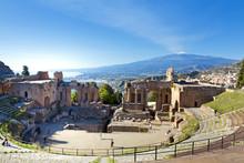 Ancient Greek Roman Theater In...