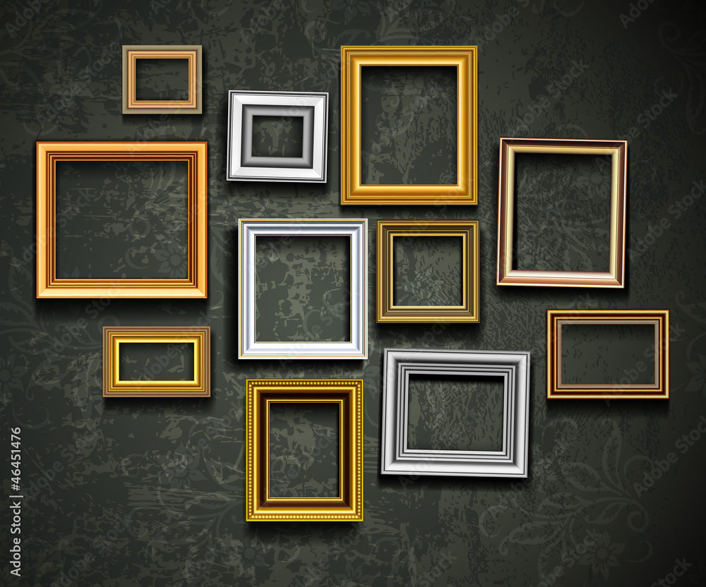 Fototapety, obrazy: Picture frame vector. Photo art gallery.Picture frame vector. Ph