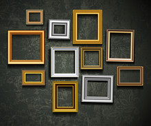 Picture Frame Vector. Photo Ar...