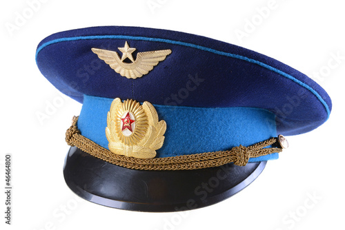 3960ed425 Russian military pilot hat - Buy this stock photo and explore ...