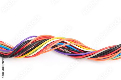 Fotografía  Multicolored computer cable