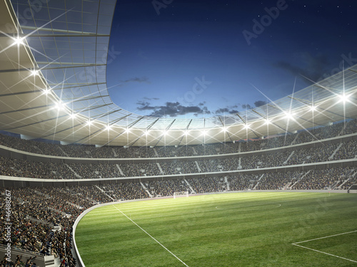 Foto Rollo Premium - Stadion (von KB3)