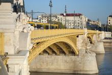 The Margaret Bridge In Budapest (Hungary)