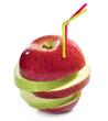 Zumo de manzana natural.