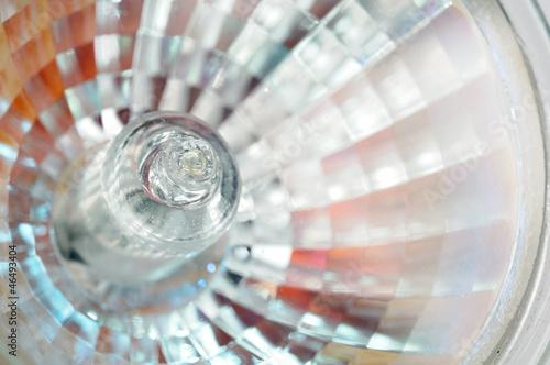 Obraz Halogen Light Bulb Close-Up - fototapety do salonu