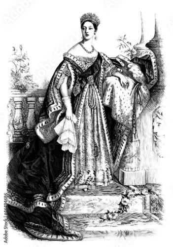 Fotografie, Obraz England : Queen Victoria - 19th century