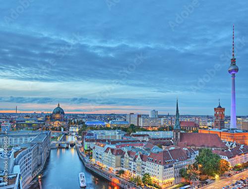 Keuken foto achterwand Berlijn Blick über Berlin