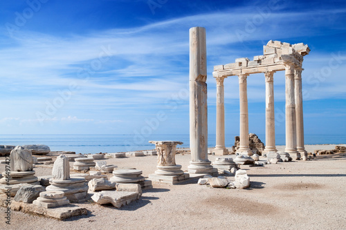 Poster Turquie Temple of Apollo ancient ruins