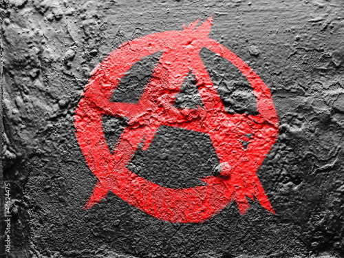 Anarchy symbol Canvas-taulu