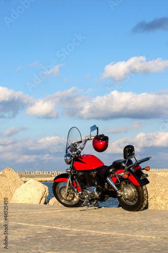 Poster Motocyclette Motorbike