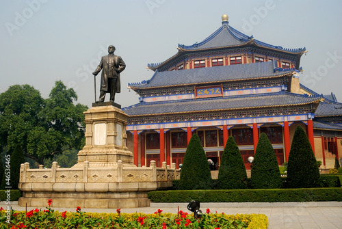 Tuinposter China Sun Yat-sen Memorial Hall, Guangzhou, China