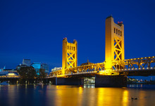 Golden Gates Drawbridge In Sac...