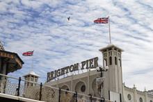 Brighton Pier. Sussex. England