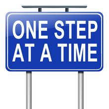 One Step At A Time.