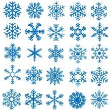 Snowflakes Set - 25 Illustrati...