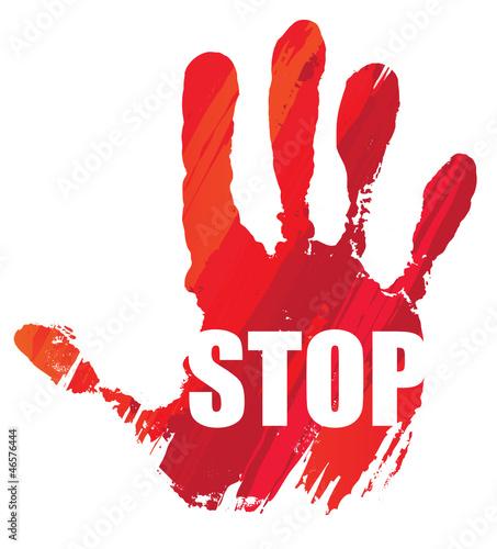 aktywizm-czerwona-reka-stop