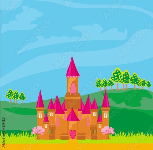 Poster Castle Magic Fairy Tale Princess Castle