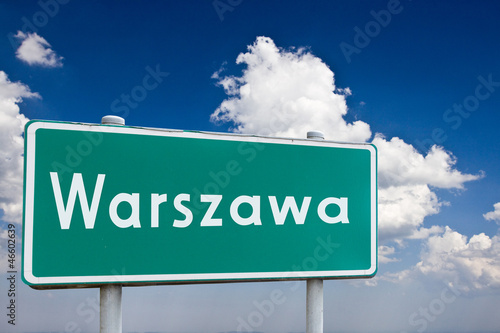 Fototapeta Znak Warszawa obraz