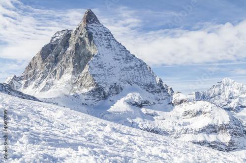 Fotografie, Obraz  Matterhorn, Ostseite