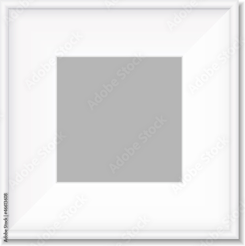 Simple white frame vector - Buy this stock vector and explore ...