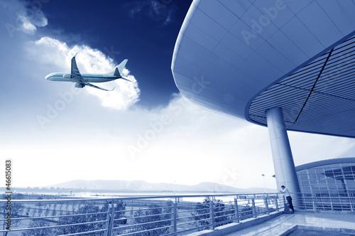 Foto op Aluminium Luchthaven Beijing Airport