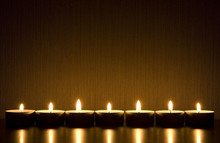 Small Candles With Space For T...