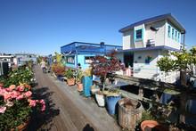 Californie - Houseboat à Sausalito