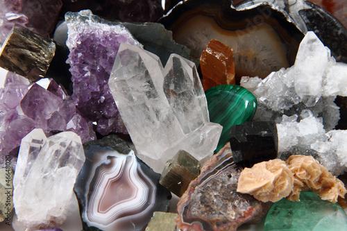 Tablou Canvas color gems background