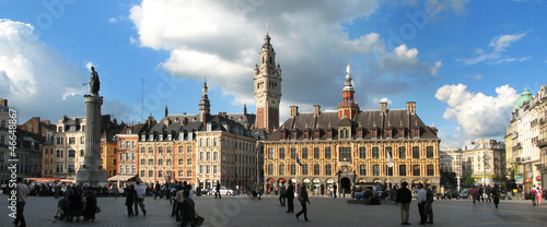 Poster Northern Europe Lille - Grand place