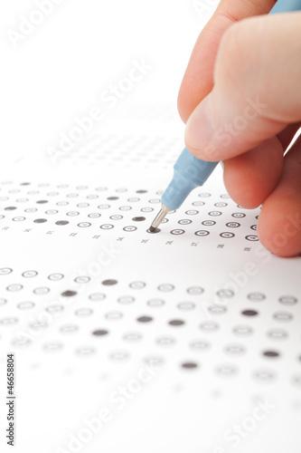 Cuadros en Lienzo Student test (exam)